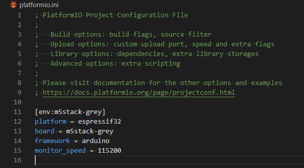PlatformIO, monitor_speed