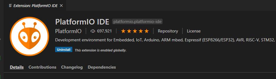 VSCode Platform IO
