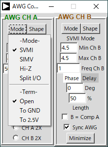 M1K CH.A mode