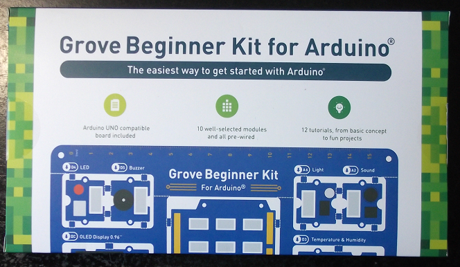 Grove Beginer Kit For Arduino Package