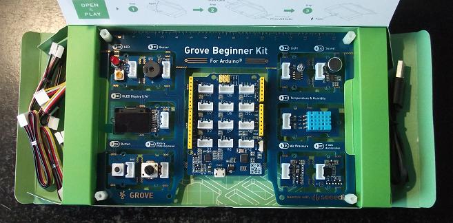 Grove Beginner Kit Board
