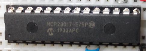 MCP23017 DIP