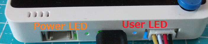 Wio Terminal, Power LED & User LED
