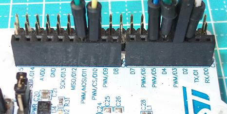 Nucleo Digital Pins