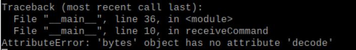 uPython, no decode()