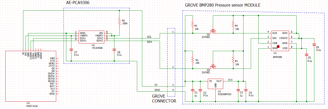 M5_PCA9306_BMP280_Schematic