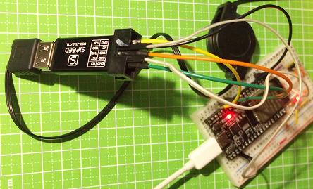 RISC-V-DEBUGGER with ESP32-DevKitC