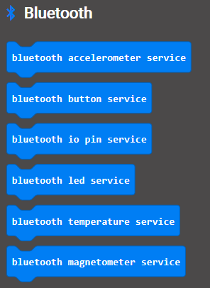 ALL BLE services