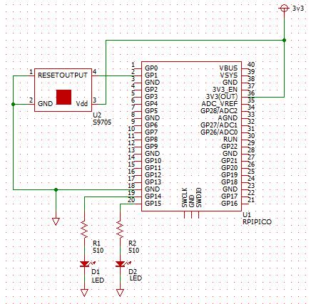 RPiPico_S9705 Schematic