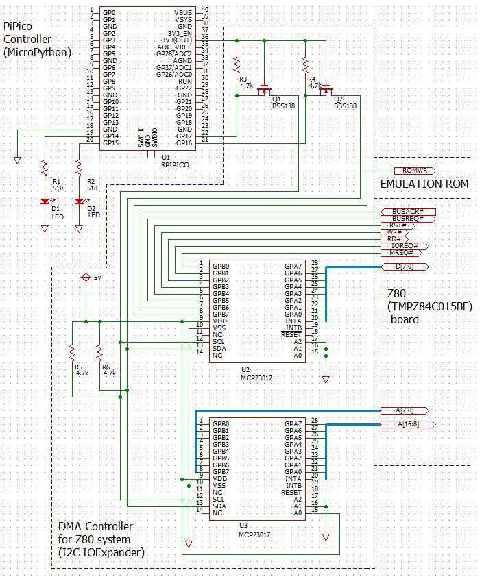 PiPicoZ80DMAschematic