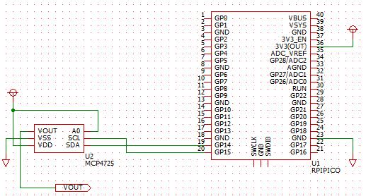 RPiPicoMCP4725_Schematic